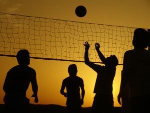Silhouette_Volleyball